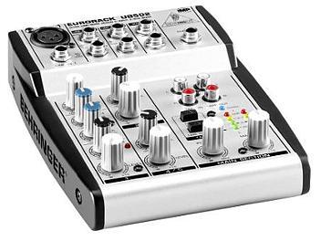Behringer Eurorack UB502 5-Input 2-Bus Audio Mixer