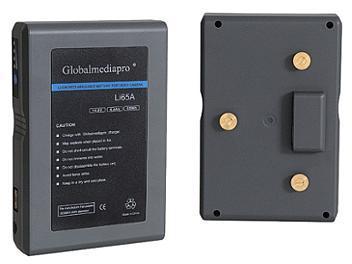 Globalmediapro Li65A Gold Mount Li-ion Battery 65Wh