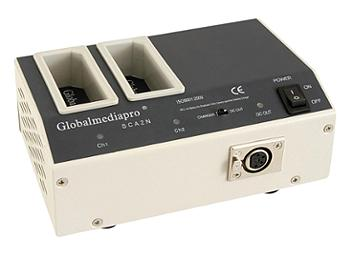 Globalmediapro SCA2N 2-channel NP1B Mount Charger/ AC Adaptor