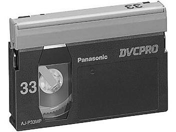 Panasonic AJ-P33MP DVCPRO Cassette (pack 10 pcs)