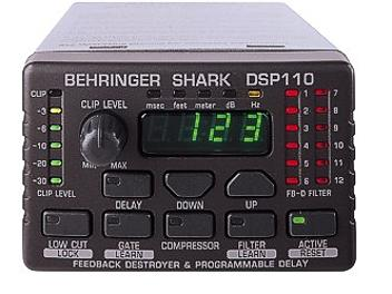 Behringer SHARK DSP110 Processor
