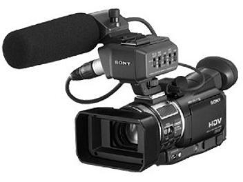 Sony HVR-A1E HDV Camcorder PAL