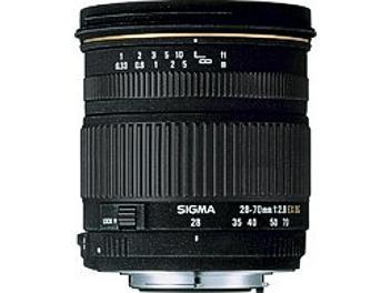 Sigma 28-70mm F2.8 EX DG Lens - Canon Mount