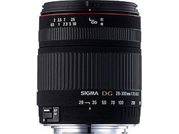 Sigma 28-300mm F3.5-6.3 DG Macro Lens - Sigma Mount