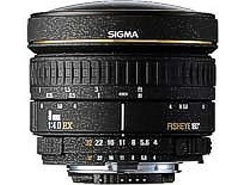Sigma 8mm F4 EX Circular Fisheye Lens - Canon Mount
