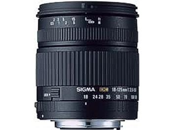 Sigma 18-125mm F3.5-5.6 DC Lens - Canon Mount