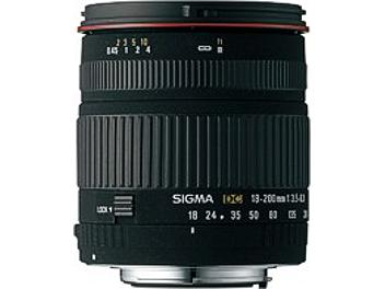 Sigma 18-200mm F3.5-6.3 DC Lens - Canon Mount