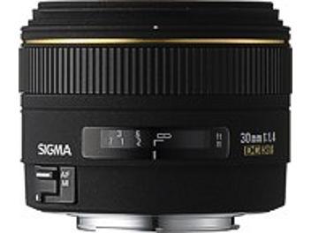 Sigma 30mm F1.4 EX DC HSM Lens - Canon Mount