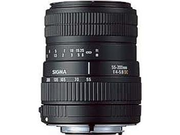 Sigma 55-200mm F4-5.6 DC Lens - Four Thirds Mount