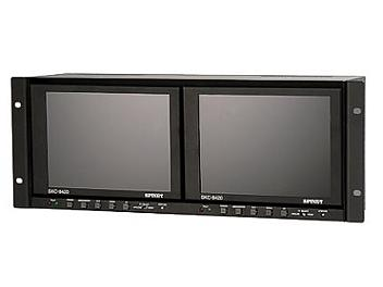 Spinet SKC-8420 2 x 8-inch LCD Monitors