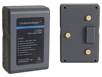 Globalmediapro Li190A Gold Mount Li-ion Battery 190Wh
