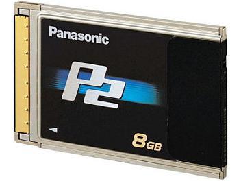 Panasonic AJ-P2C008HG P2 Card 8Gb
