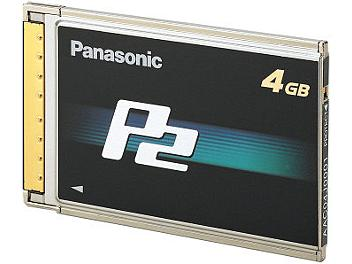 Panasonic AJ-P2C004HG P2 Card 4Gb