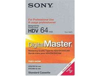 Sony PHDV-64DM HDV Cassette (pack 10 pcs)