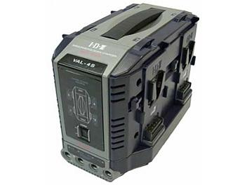 IDX VAL-4S 4+4ch Endura Lithium ion Fast Charger