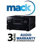 Mack 1049 3 Year Audio International Warranty (under USD2500)