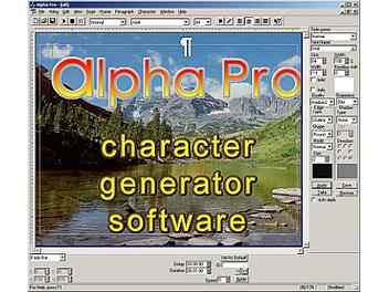StreamLabs ALPHA Pro 2.0 Character Generator Software