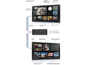 StreamLabs MultiScreen 8 SDI TV Signal Monitoring System