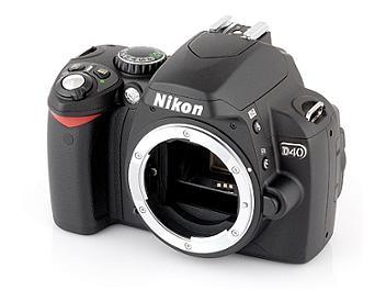 Nikon D40 DSLR Camera Body