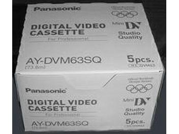 Panasonic AY-DVM63SQ mini-DV Cassette (pack 50 pcs)