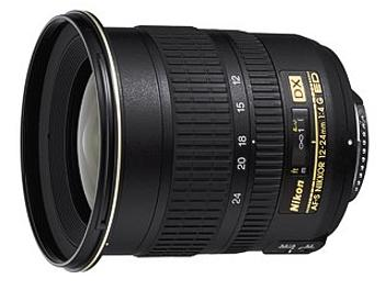 Nikon 12-24mm F4G IF-ED AF-S DX Nikkor Lens