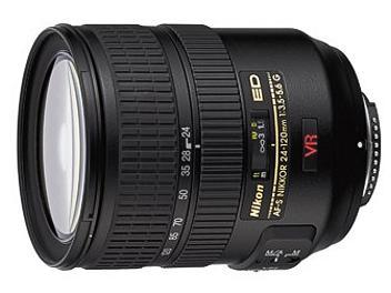 Nikon 24-120mm F3.5-5.6G IF-ED AF-S VR Nikkor Lens
