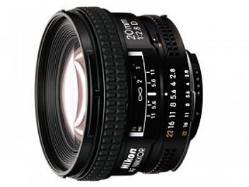 Nikon 20mm F2.8D AF Nikkor Lens