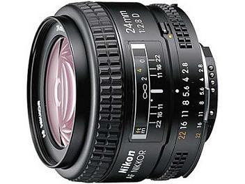 Nikon 24mm F2.8D AF Nikkor Lens