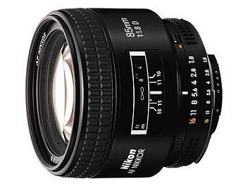 Nikon 85mm F1.8D AF Nikkor Lens