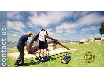 Digidolly DDK2 Track Dolly System with Stand-on