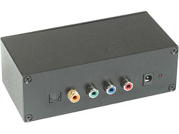 Globalmediapro C5E-31DP Audio Component Video CAT5 Extender (Transmitter and Receiver)