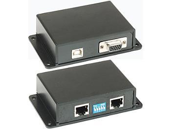 Globalmediapro C5E-61VU VGA Keyboard Mouse CAT5 Extender (Transmitter and Receiver)
