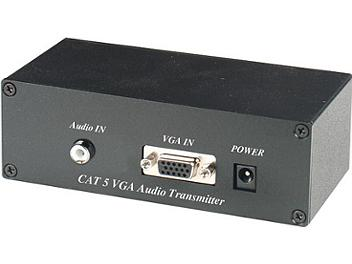 Globalmediapro C5E-51A VGA Audio CAT5 Extender (Transmitter and Receiver)