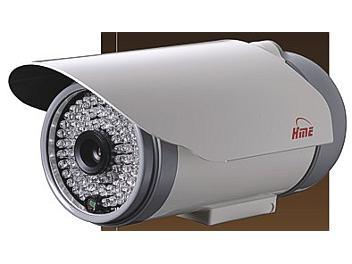 HME HM-P45H IR Color CCTV Camera 480TVL 8mm Lens NTSC
