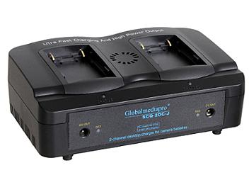 Globalmediapro SCQ2-DC-J 2-channel Charger