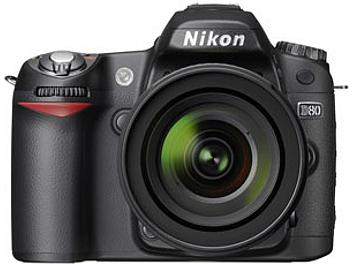 Nikon D80 DSLR Camera Kit with Nikon 18-135mm Lens