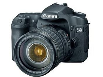 Canon EOS-40D DSLR Camera Kit with Canon EF-S 17-85mm IS USM Lens