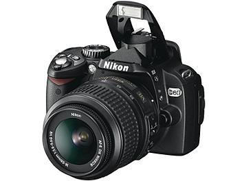 Nikon D60 DSLR Camera Kit with Nikon 18-55mm Lens and Nikon 55-200mm Lens