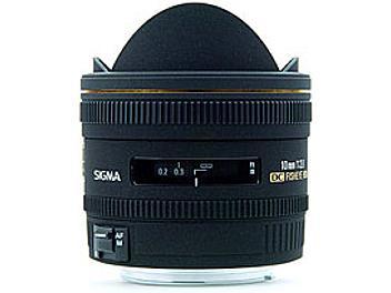 Sigma 10mm F2.8 EX DC Fisheye HSM Lens - Canon Mount