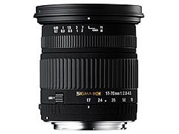 Sigma 17-70mm F2.8-4.5 DC Macro Lens - Nikon Mount