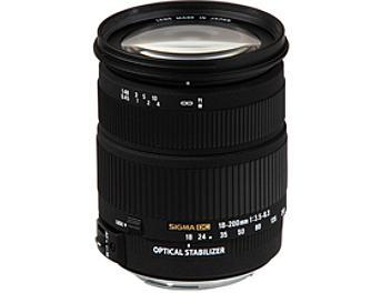 Sigma 18-200mm F3.5-6.3 DC OS Lens - Nikon Mount