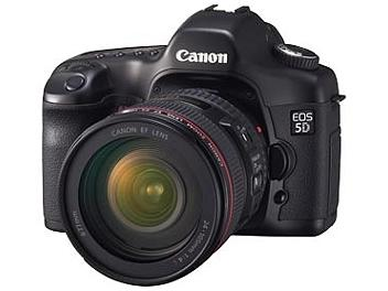Canon EOS-5D DSLR Camera Kit with Canon EF 24-105mm F4L IS USM Lens