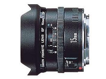 Canon EF 15mm F2.8 Fisheye Lens