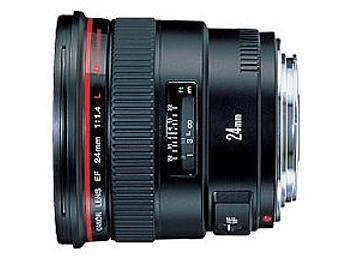 Canon EF 24mm F1.4L USM Lens