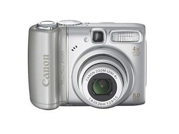 Canon PowerShot A580 Digital Camera - Silver