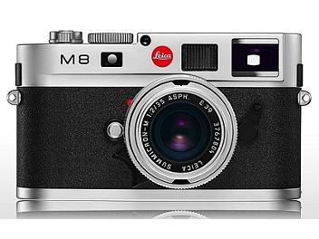 Leica M8 Digital Rangefinder Camera - Silver
