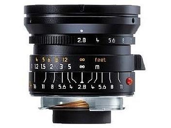 Leica Elmarit-M 2.8/24 Lens - Black