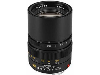 Leica Elmarit-M 2.8/90 Lens - Black