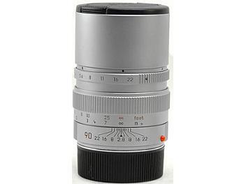 Leica Elmarit-M 2.8/90 Lens - Silver