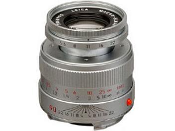Leica MACRO-Elmar-M 4.0/90 Lens - Silver